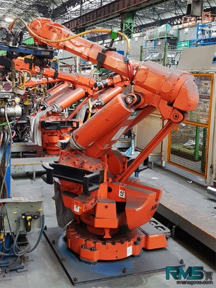IRB6400 - DESTOCKAGE ROBOTS